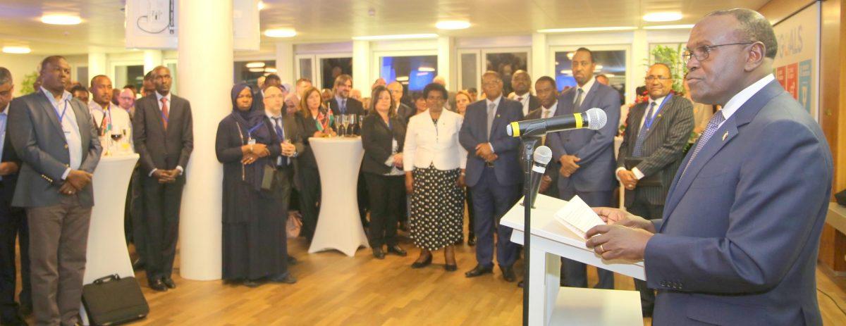 KENYAN ENVOY ELECTED TO CHAIR TOP GLOBAL BODY