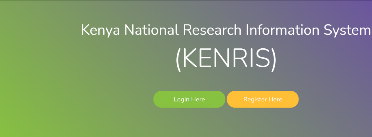 REVITALIZATION OF THE RESEARCH ECOSYSTEM IN KENYA