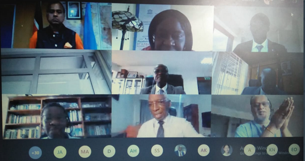 """BRIEF ON LAUNCH OF PROGRAMME ON """"KEEPING STUDENTS CONNECTED TO STEM EDUCATION IN THE FACE OF COVID'19 PANDEMIC IN KENYA: A DIGITAL APPROACH TO STEM MENTORSHIP"""""""