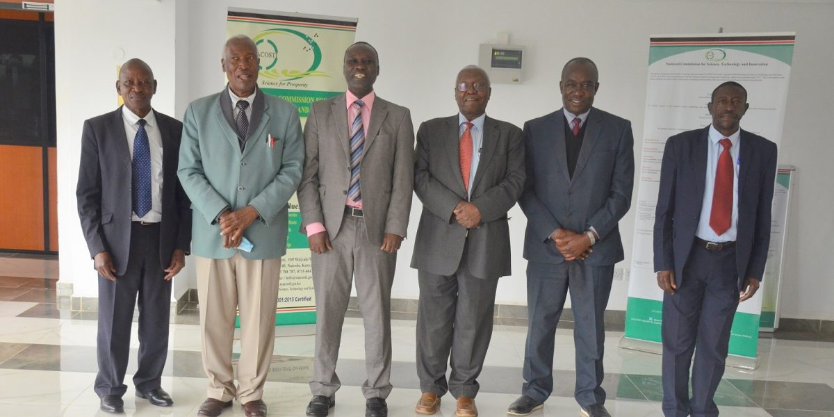 KNAS TEAM PAID A COURTESY CALL ON THE DIRECTOR GENERAL, NACOSTI