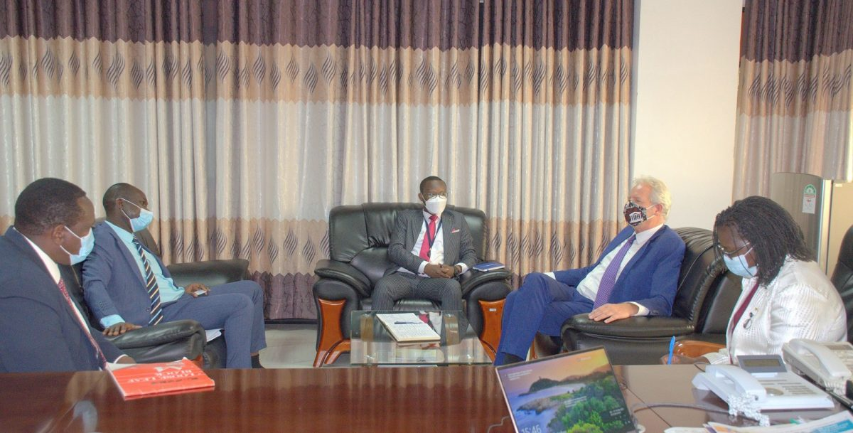 A COURTESY CALL BY THE UNESCO REGIONAL DIRECTOR FOR EASTERN AFRICA